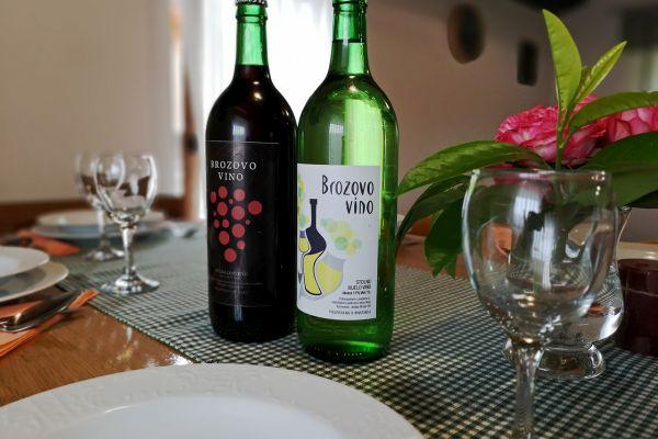 Domaće zagorsko vino